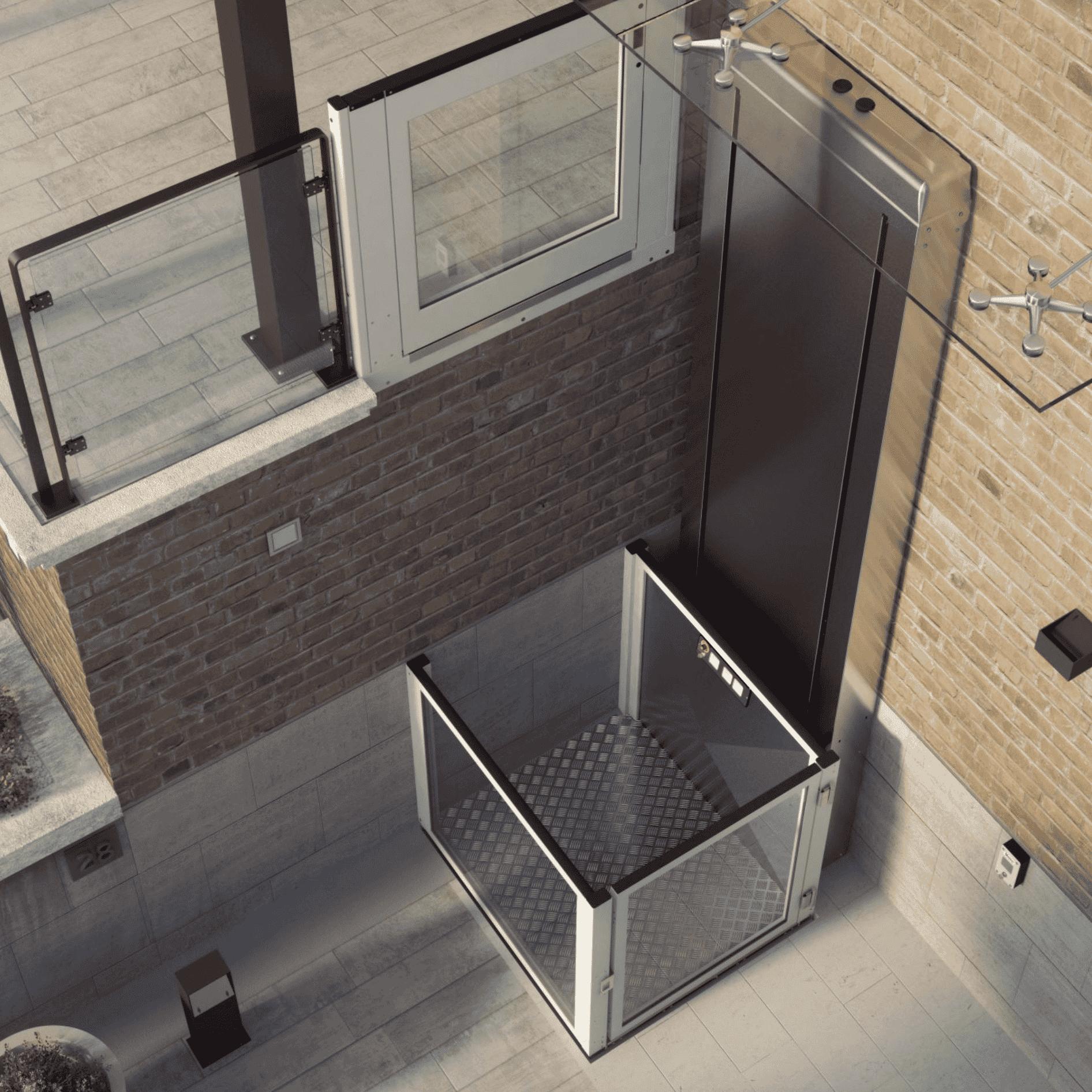 plataforma salvaescaleras elevador vertical s11 vimec