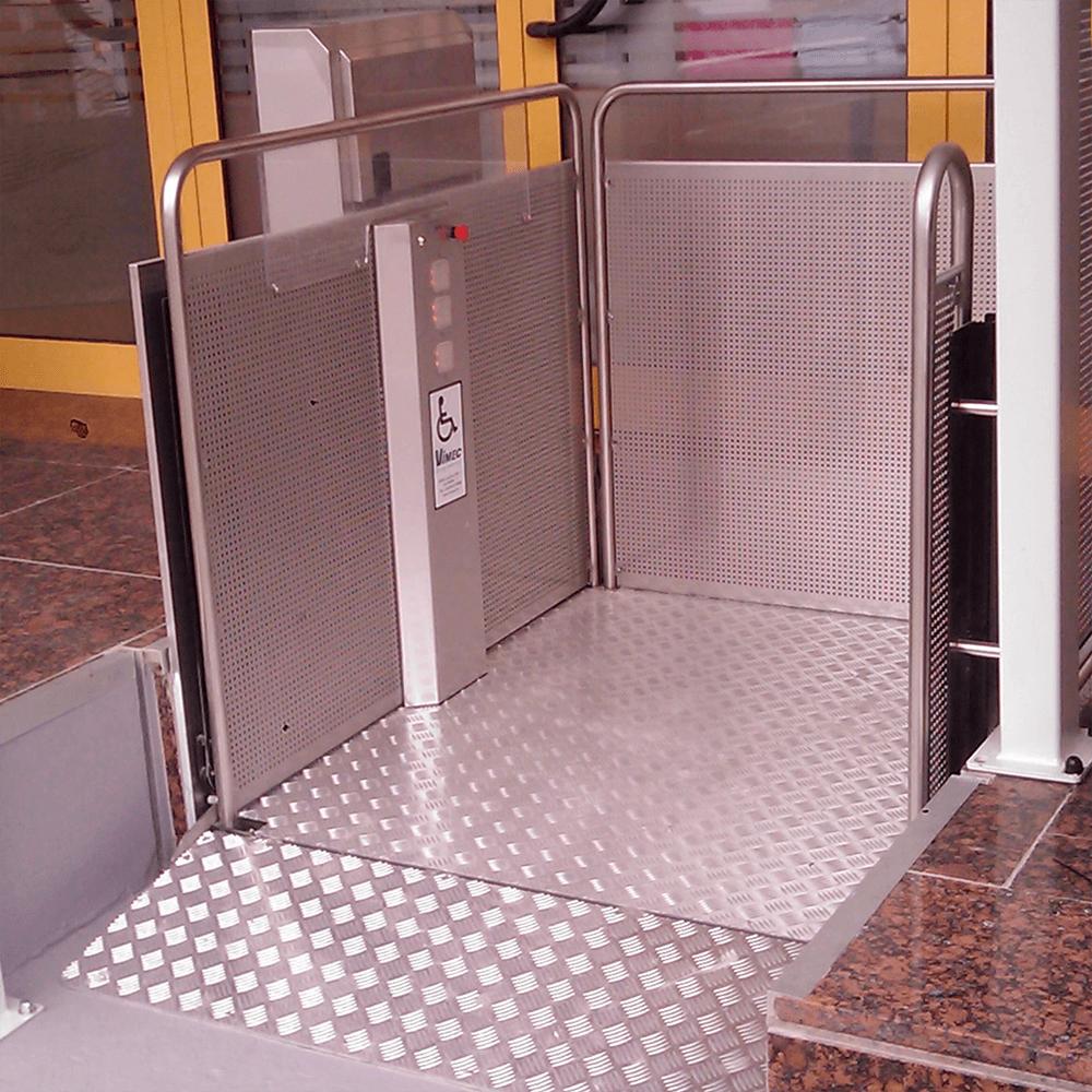 plataforma salvaescaleras vertical silver vimec