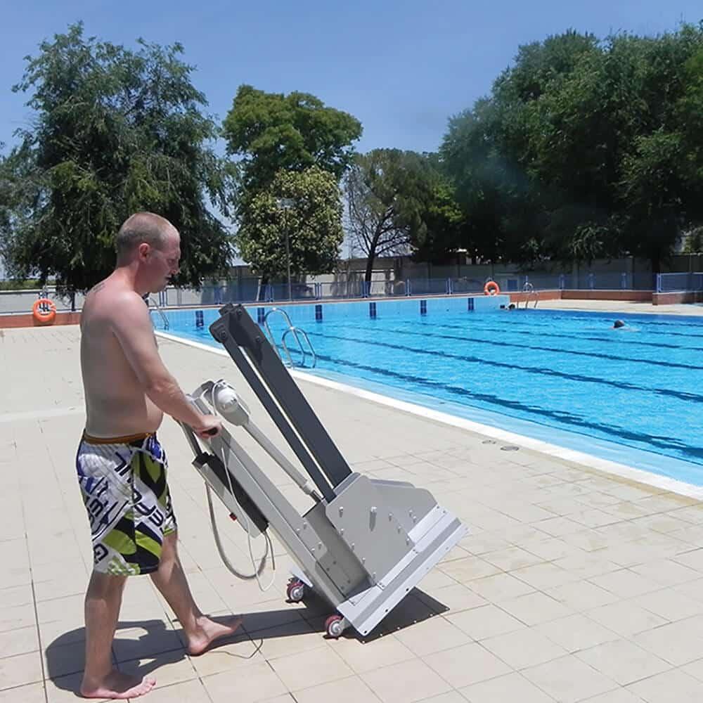 sillas gruas ascensor acuatico piscinas ancianos minusvalidos e600 metalu