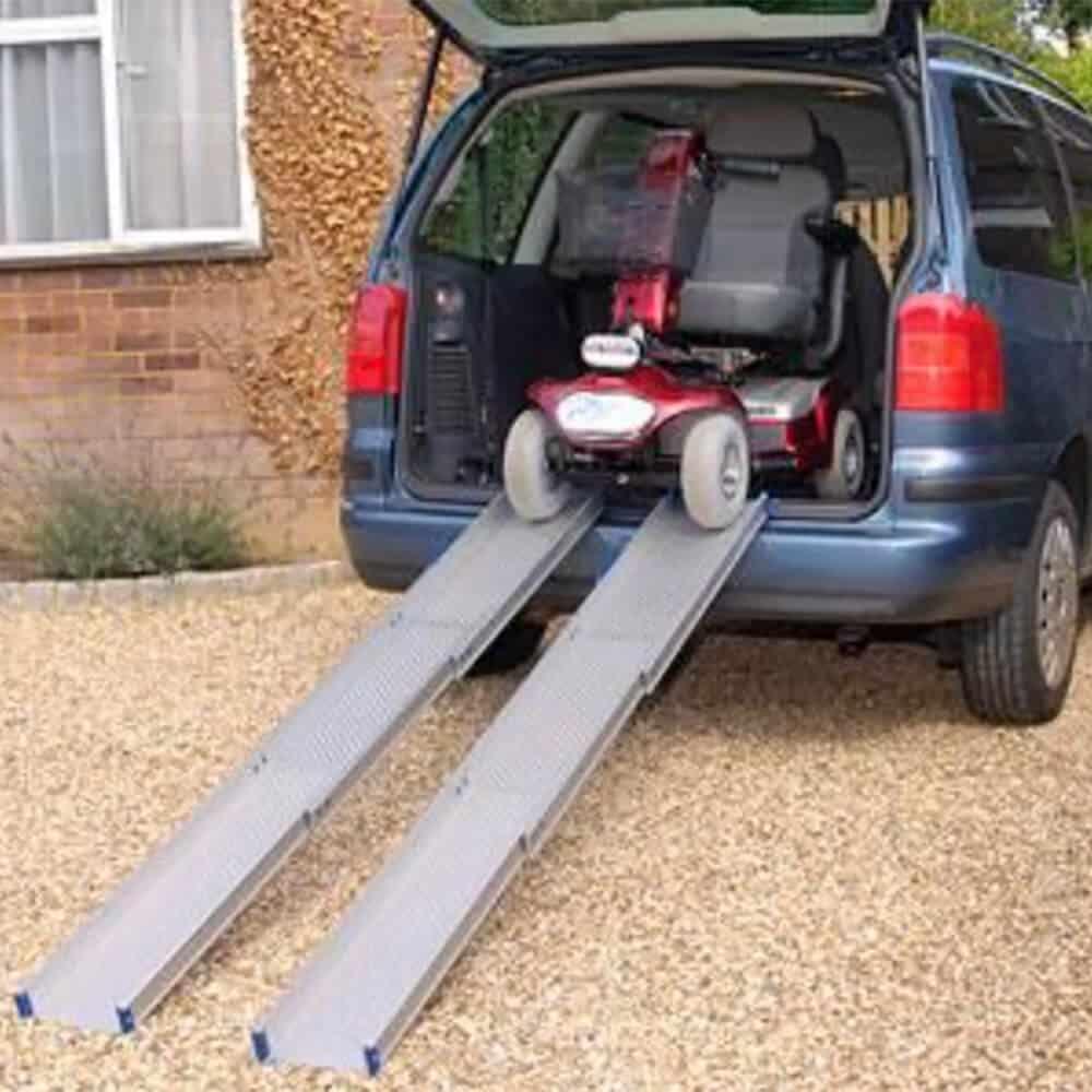 rampas portatiles salvaescaleras accesibilidad silla ruedas minusvalidos