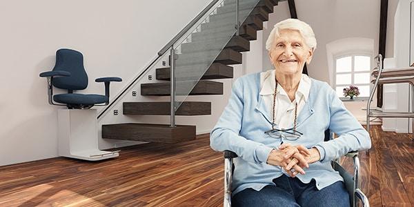 sillas salvaescaleras para personas mayores