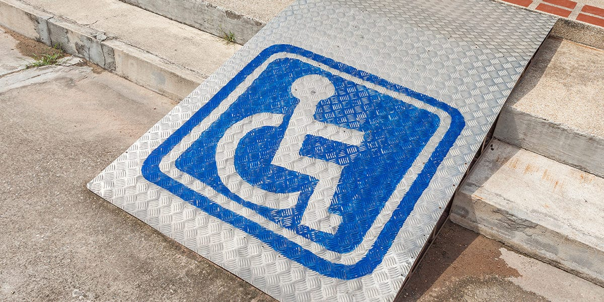 rampas para minusvalidos silla de ruedas