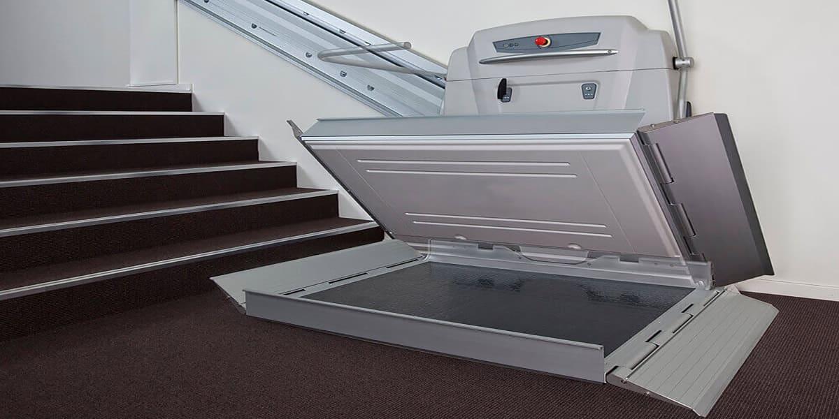 plataformas elevadoras salvaescaleras inclinadas tramo recto