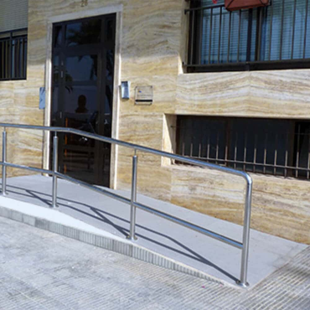 rampas de obra salvaescaleras accesibilidad sillas ruedas minusvalidos