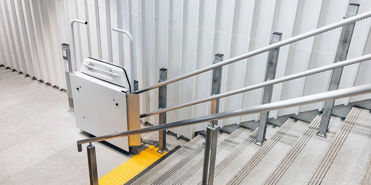 seguridad rampas escaleras