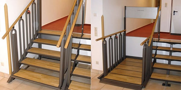 escaleras convertibles plataformas elevadoras
