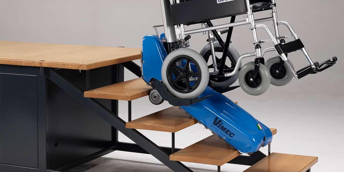 oruga salvaescaleras portatil silla ruedas
