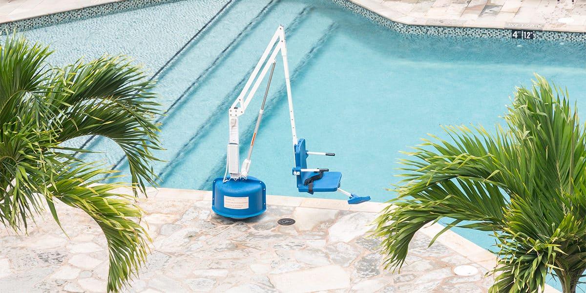 elevador hidraulico piscina
