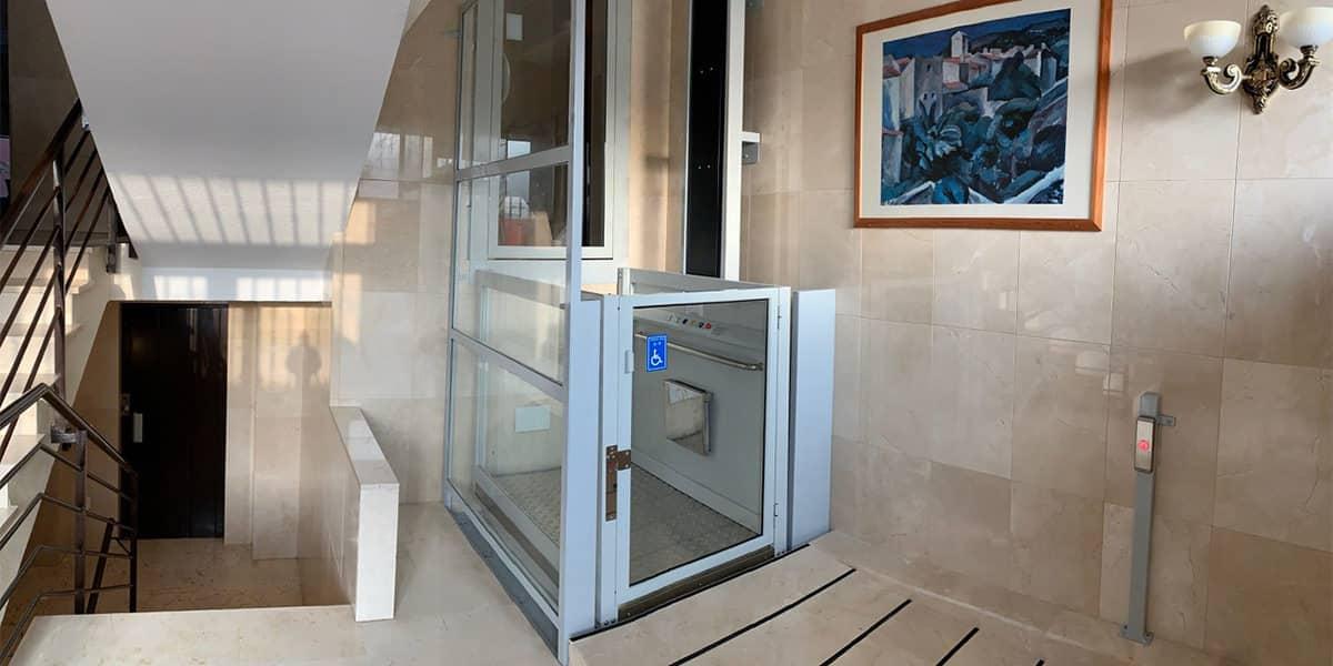instalacion elevador comunidad vecinos