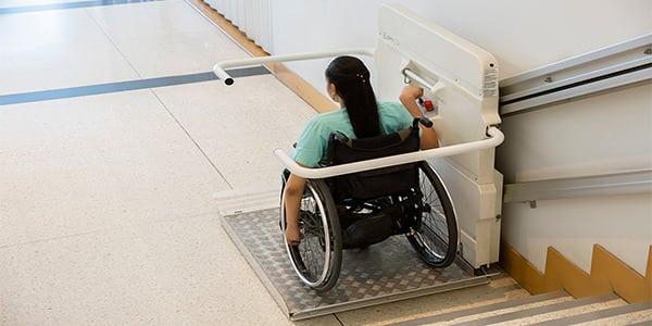 salvaescaleras para sillas de ruedas